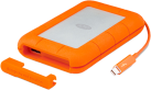 LaCie Rugged Thunderbolt - Disque SSD - 500 Go - Gris/Orange