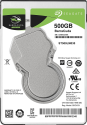 SEAGATE BarraCuda - Interne Festplatte - Kapazität 500 GB - Silber