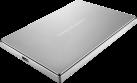 LaCie Porsche Design Mobile Drive USB-C - Festplatte - Kapazität 2 TB - Silber