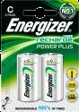 Energizer Power Plus - NiMH-Batterie C - 2 Pièces