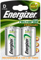 Energizer Power Plus - NiMH-Batteria D - 2 Pezzi