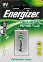 Energizer Power Plus - NiMH-Batterie 9V - 1 Pièces