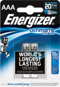 Energizer Ultimate Lithium - Batterie AAA - 2 Pezzi