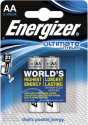 Energizer Ultimate Lithium - Batterie AA - 2 Pezzi