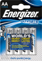 Energizer Ultimate Lithium - Batterie AA - 4 Pezzi