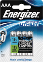 Energizer Ultimate Lithium - Batterie AAA - 4 Pezzi