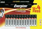 Energizer  ULTRA+ AAA, 12+4 Gratis