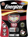 Energizer VISION HD HEADLIGHT - Lampada frontale - Luce LED - Rosso/Grigio