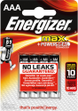 Energizer MAX - AAA Batterien - 4 Stück