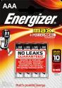 Energizer MAX - Piles classiques AAA - 4 Pièce