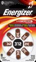 Energizer Hörgeräte-Batterien-312 - 8 Stück