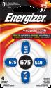 Energizer Hörgeräte-Batterien-675 - 4 Stück
