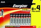 Energizer MAX - AAA Batterien - 8+4 Stück