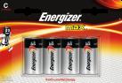 Energizer MAX - Batterie C - 4 Pezzi