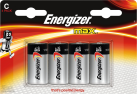 Energizer MAX - C Batterie - 4 Stück