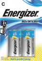 Energizer Advanced - C Batterie - 2 Stück