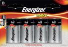 Energizer MAX - Batterie D - 4 Pezzi