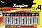 Energizer Max, AA 12+4 Gratis