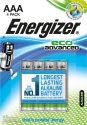 Energizer EcoAdvanced - Pile AAA - 4 Pièces