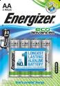 Energizer EcoAdvanced - AA Batterie - 4 Stück