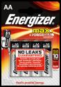 Energizer® MAX - Batteria AA - 4 pezzi