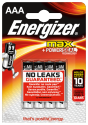 ENERGIZER® MAX - Pile AAA - 4 pièces
