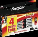 Energizer MAX - AA Batterien - 14+4 Stück