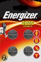 Energizer Lithium CR2025 - Knopfzelle - 4 Stück