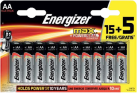 Energizer MAX - Batterie classice AA - 15+5 Pezzi