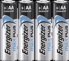 Energizer Max Plus - Mignon (AA) batterie alcaline-manganèse - 1.5 V - 4 piéces