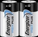 Energizer Max Plus - Mono (D)-Batterie - 2 Stück