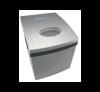 SONNENKÖNIG Eismaschine Pro - Effiziente Eismaschine - klare Eiswürfel - Silber
