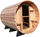 SONNENKÖNIG Finlandais Sauna Barrel