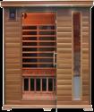 SONNENKÖNIG INDIANA - Sauna infrarouge - Pour 3 personnes -Brun