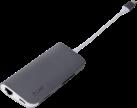LMP USB-C Aluminium Mini Dock - Spacegrau