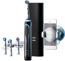 Oral-B Genius 9000S Black - Elektrische Zahnbürste - Rotationen 8800 pro min. - Schwarz