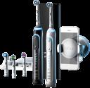 Oral-B Genius 9000 Black & White - Elektrische Zahnbürste - Putzsystem 3D - Schwarz, Weiss