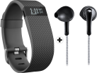 fitbit charge HR, Taille L + yurbuds Signature Series ITX-2000