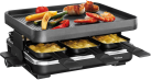 Trisa Raclette Supreme - Raclettegeräte - 1200 Watt - Schwarz