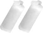 Trisa - Kalkfilter à 2 Stk zu 7936/37/38 - Weiss