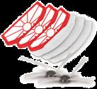 Trisa Filtro/spazzola per 9469 Accessori