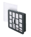 Trisa - Filter Set zu 9468 Hepa - Schwarz/Weiss