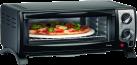 Trisa Pizza al forno - Minibackofen - Inklusive Pizzastein - Schwarz