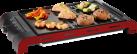 Trisa Health Grill - Grill de table - Plaque : 37x27 cm - Noir/Rouge