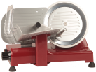 Ohmex LUSSO 22GL RD - affettatrice - 140 watt - rosso