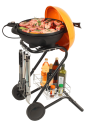 ohmex Grill 3670 - Elektrogrill - 1500 Watt - Orange