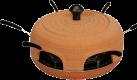 Ohmex PIZ 1600 - Pizza Party Set - Braun