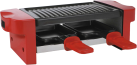 Ohmex RCL 40 - Raclette-Grill - 350 W - Rot