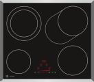 V-ZUG GK45TEBSC - Plan de cuisson - Foyers 4 - Noir