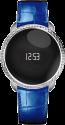MYKRONOZ ZeCircle Premium Embossed, silber/blau